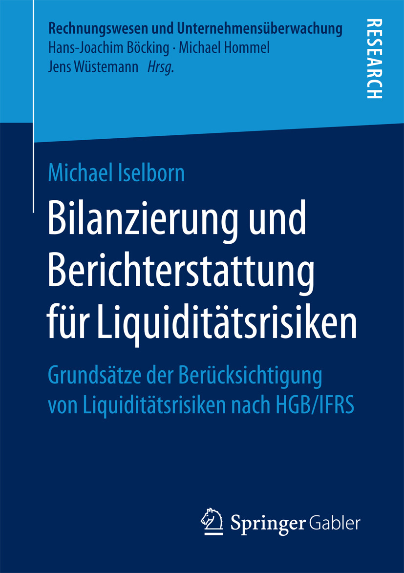 Iselborn, Michael - Bilanzierung und Berichterstattung für Liquiditätsrisiken, ebook