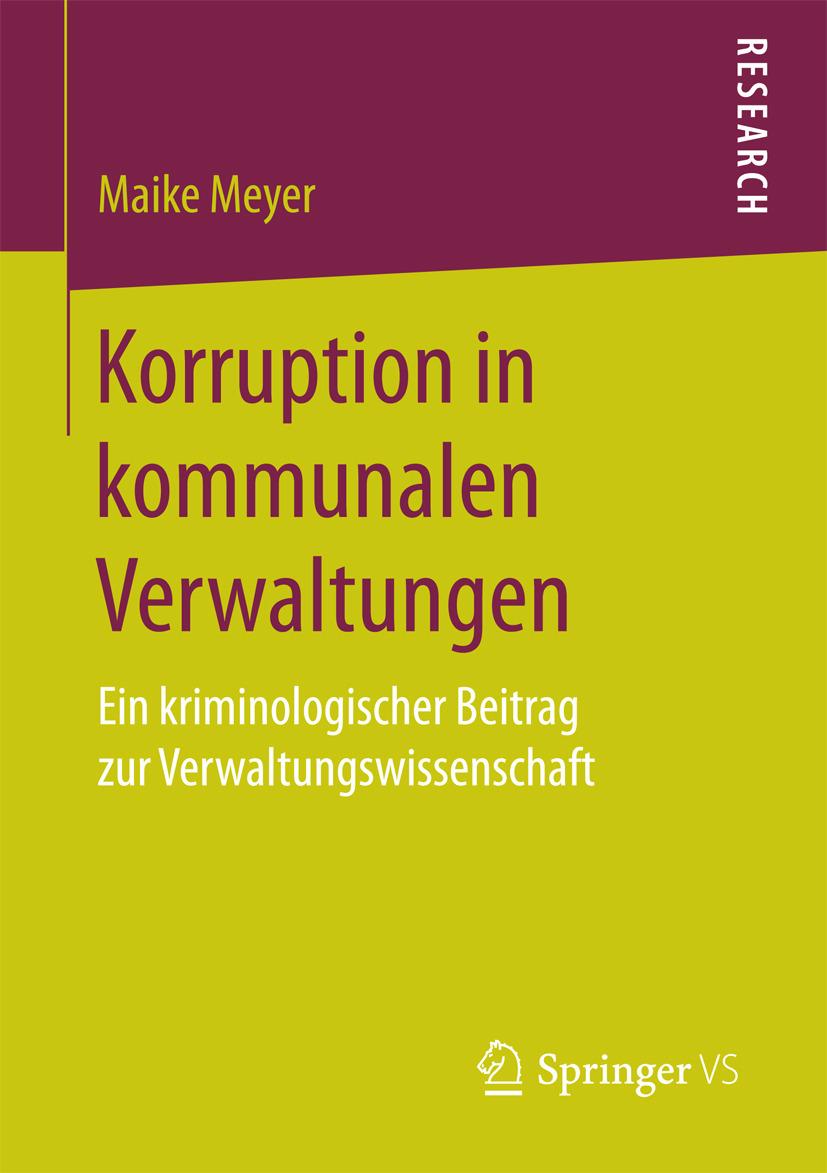 Meyer, Maike - Korruption in kommunalen Verwaltungen, ebook