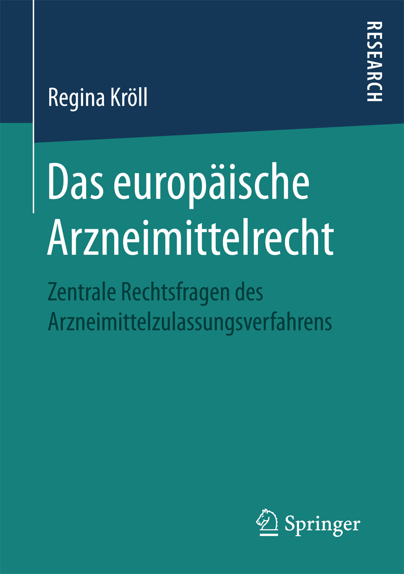 Kröll, Regina - Das europäische Arzneimittelrecht, ebook