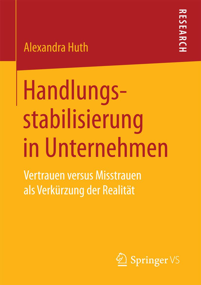 Huth, Alexandra - Handlungsstabilisierung in Unternehmen, ebook