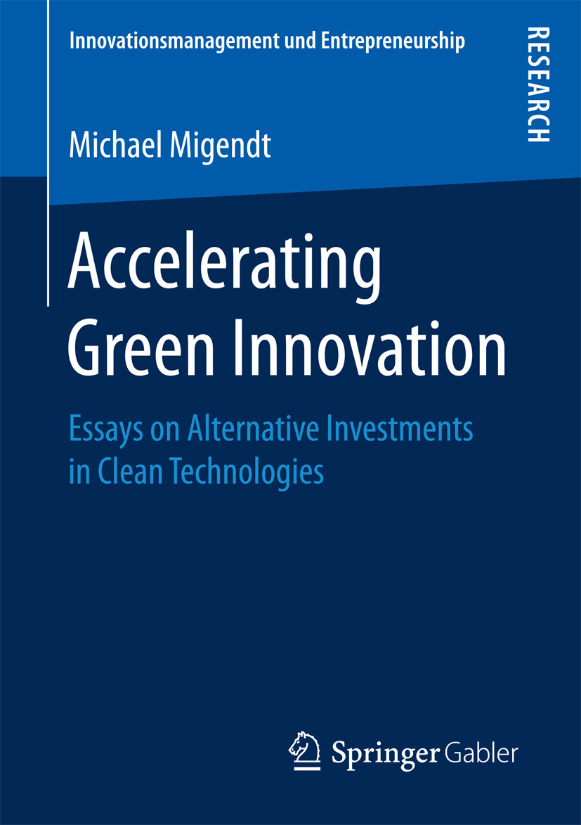 Migendt, Michael - Accelerating Green Innovation, ebook