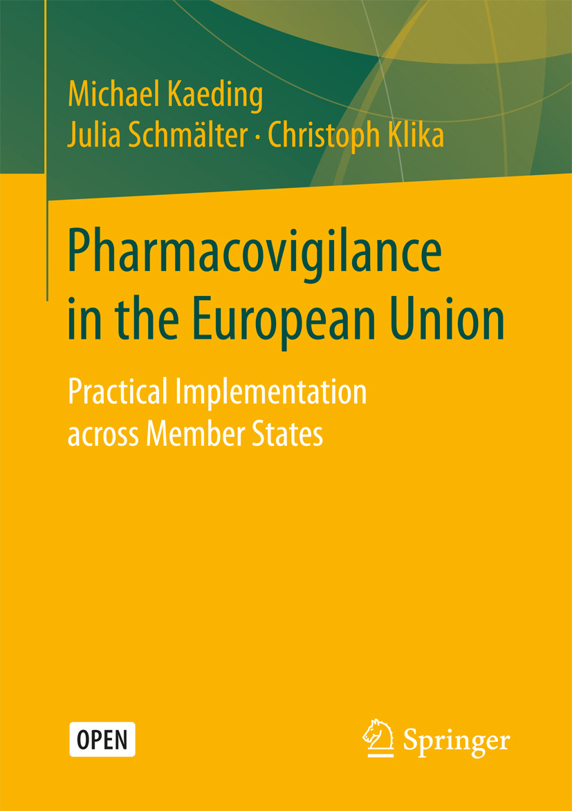 Kaeding, Michael - Pharmacovigilance in the European Union, ebook
