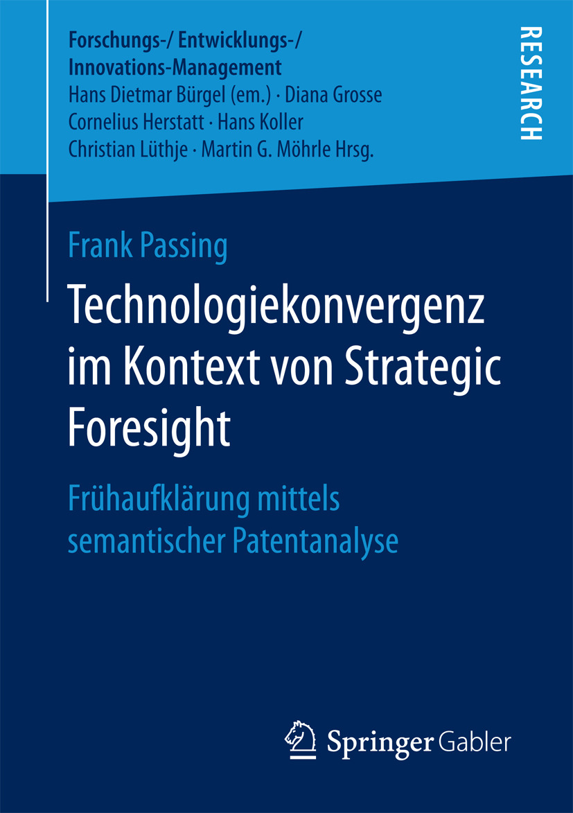 Passing, Frank - Technologiekonvergenz im Kontext von Strategic Foresight, ebook