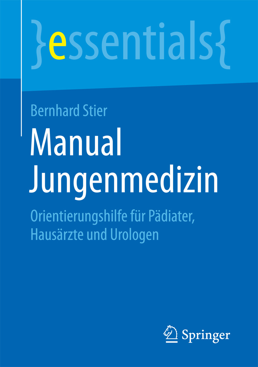 Stier, Bernhard - Manual Jungenmedizin, ebook