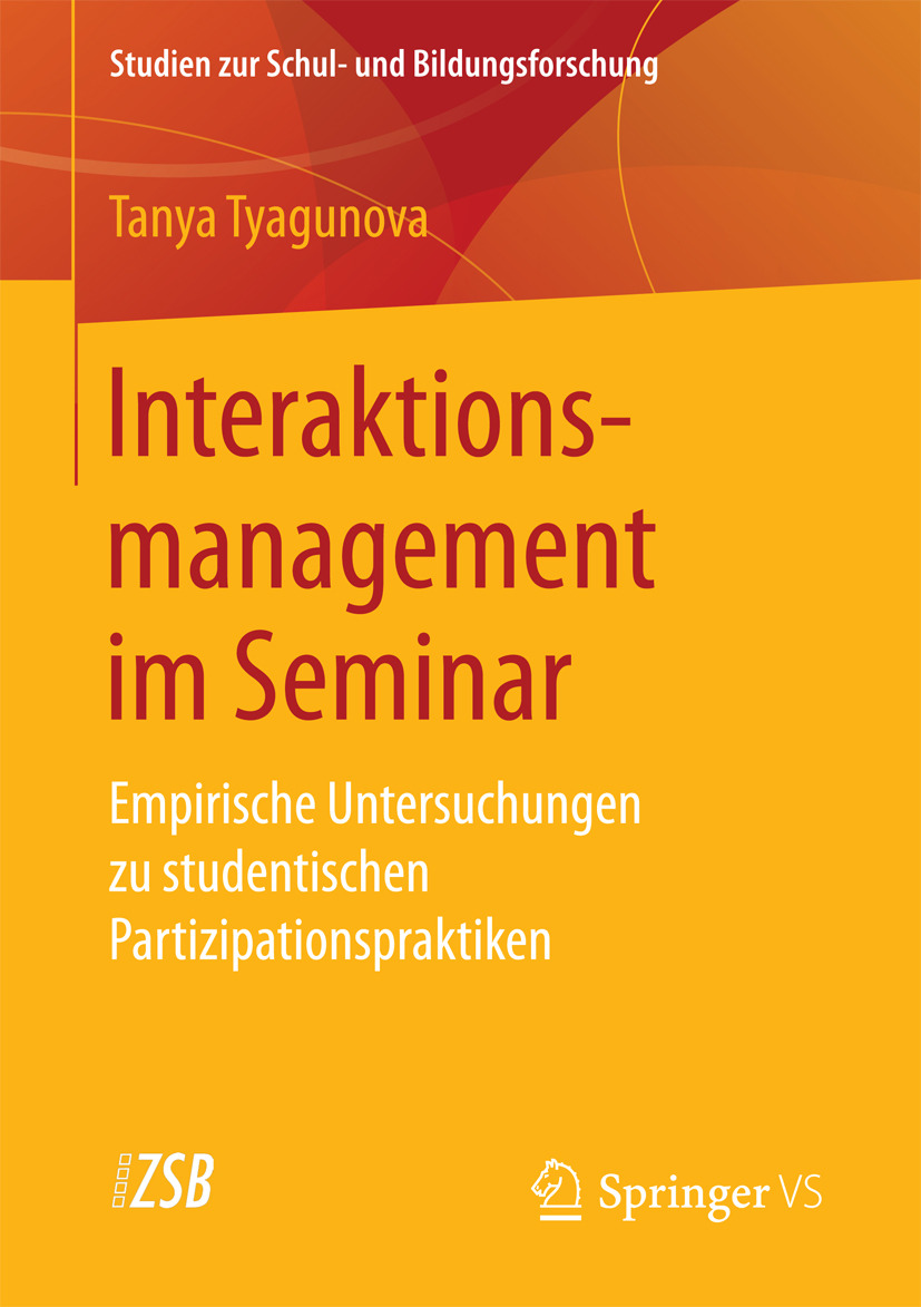 Tyagunova, Tanya - Interaktionsmanagement im Seminar, ebook
