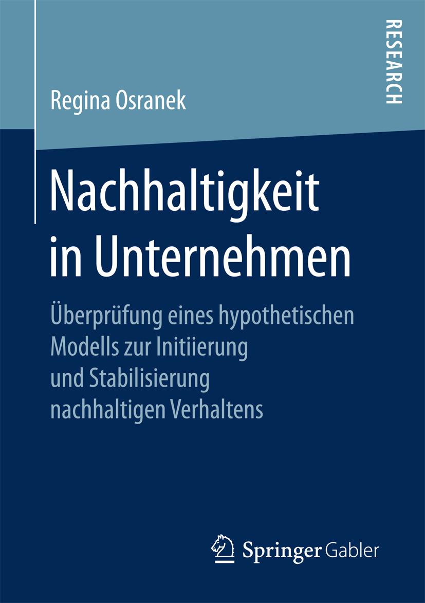 Osranek, Regina - Nachhaltigkeit in Unternehmen, ebook