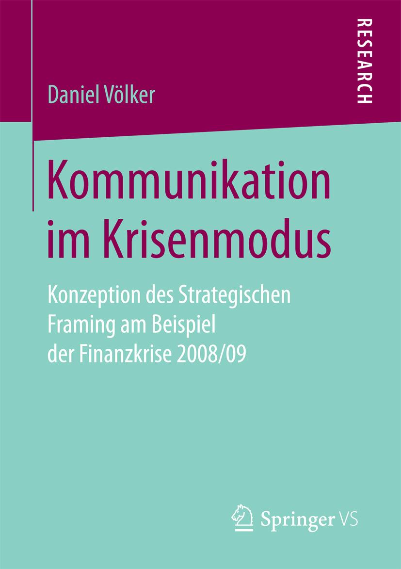 Völker, Daniel - Kommunikation im Krisenmodus, ebook