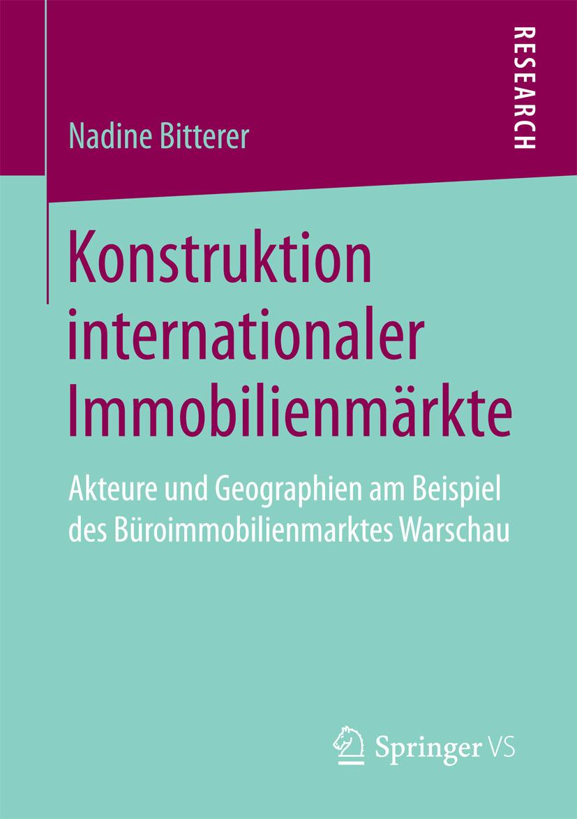 Bitterer, Nadine - Konstruktion internationaler Immobilienmärkte, ebook