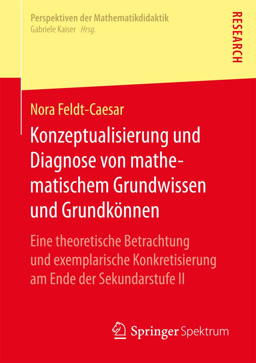 Feldt-Caesar, Nora - Konzeptualisierung und Diagnose von mathematischem Grundwissen und Grundkönnen, ebook