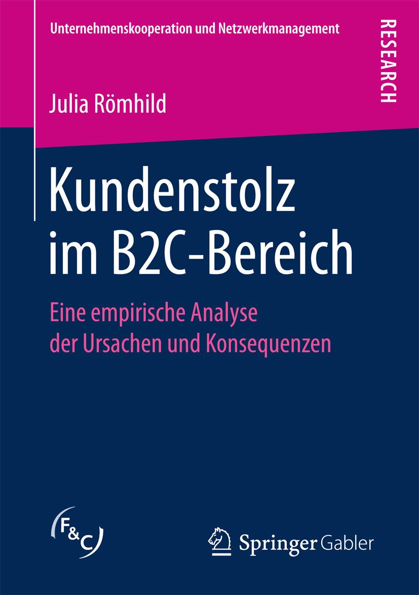 Römhild, Julia - Kundenstolz im B2C-Bereich, ebook
