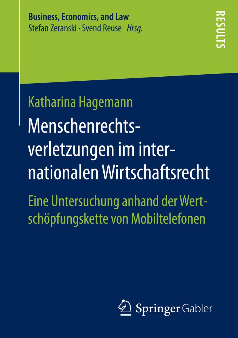 Hagemann, Katharina - Menschenrechtsverletzungen im internationalen Wirtschaftsrecht, ebook