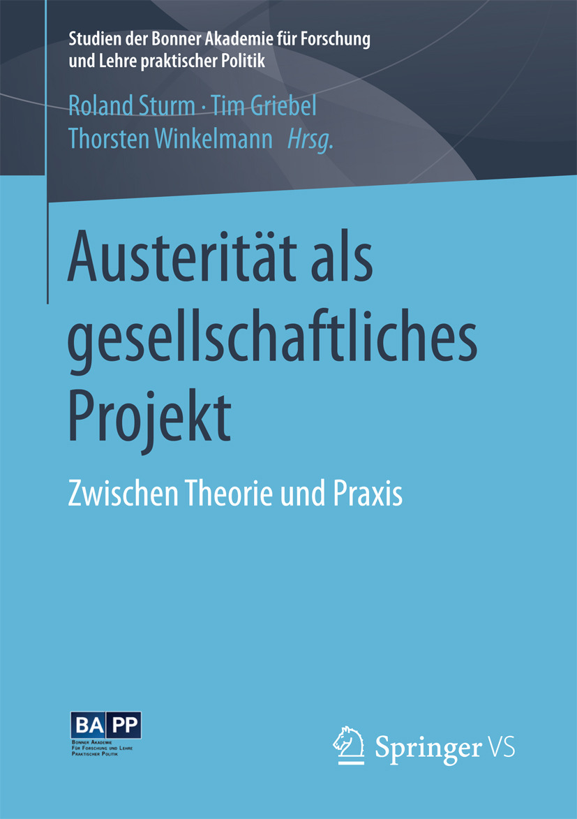 Griebel, Tim - Austerität als gesellschaftliches Projekt, ebook