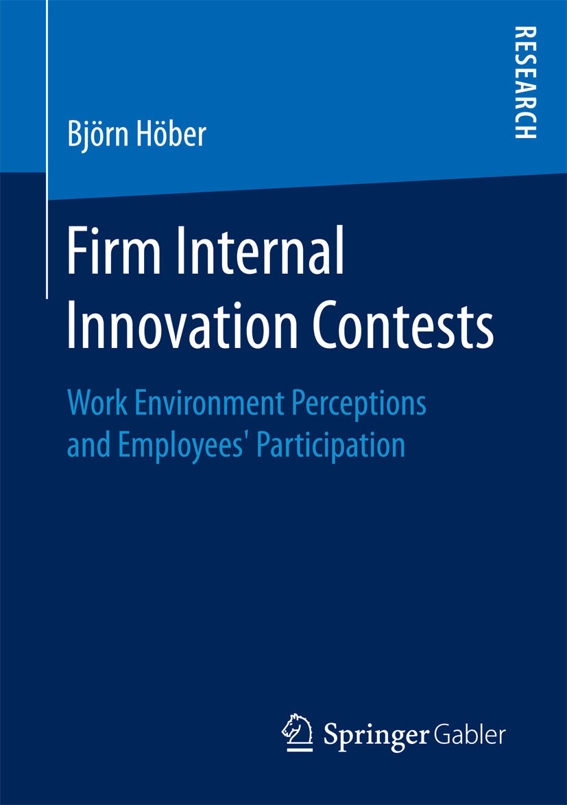 Höber, Björn - Firm Internal Innovation Contests, ebook