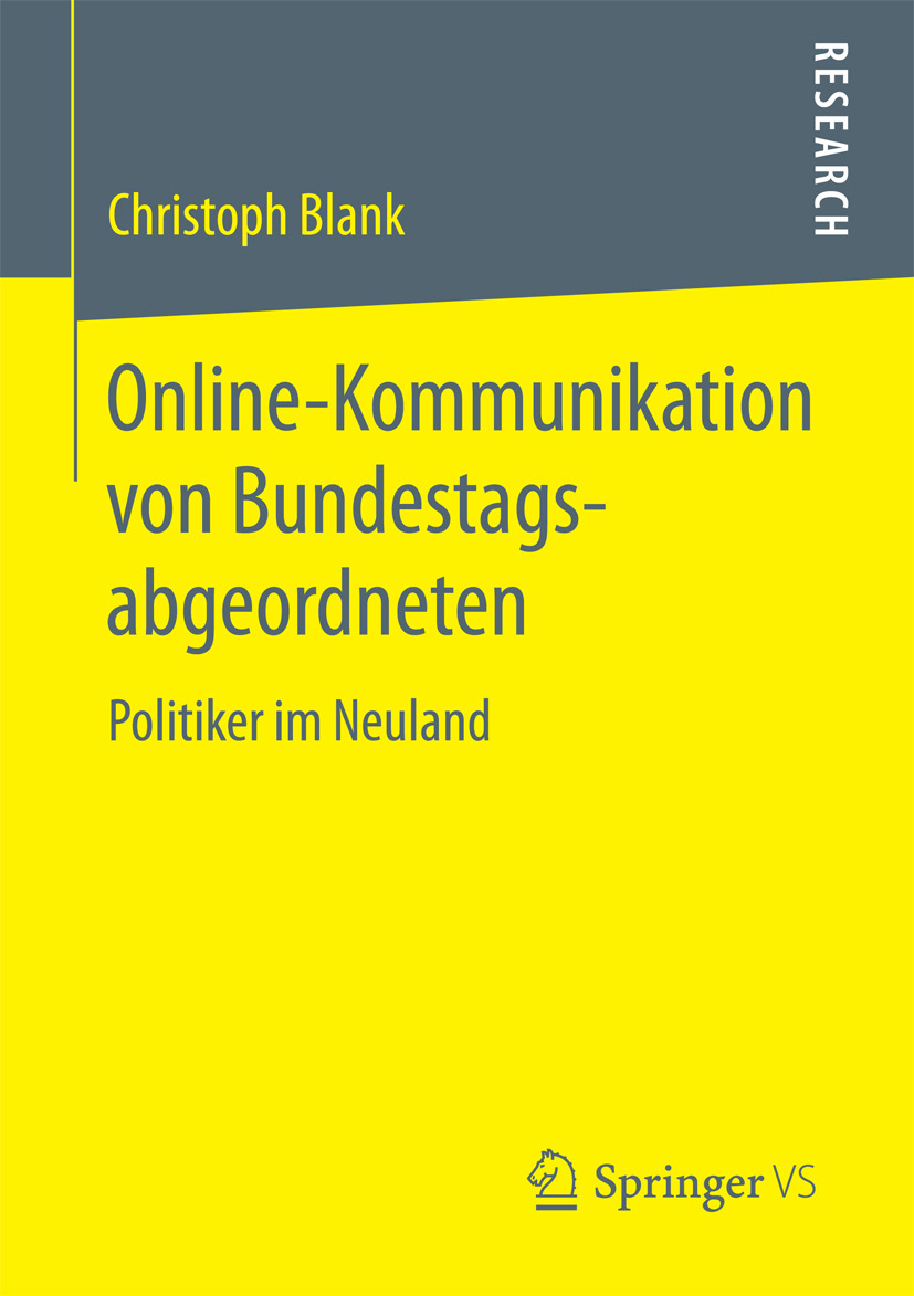 Blank, Christoph - Online-Kommunikation von Bundestagsabgeordneten, ebook