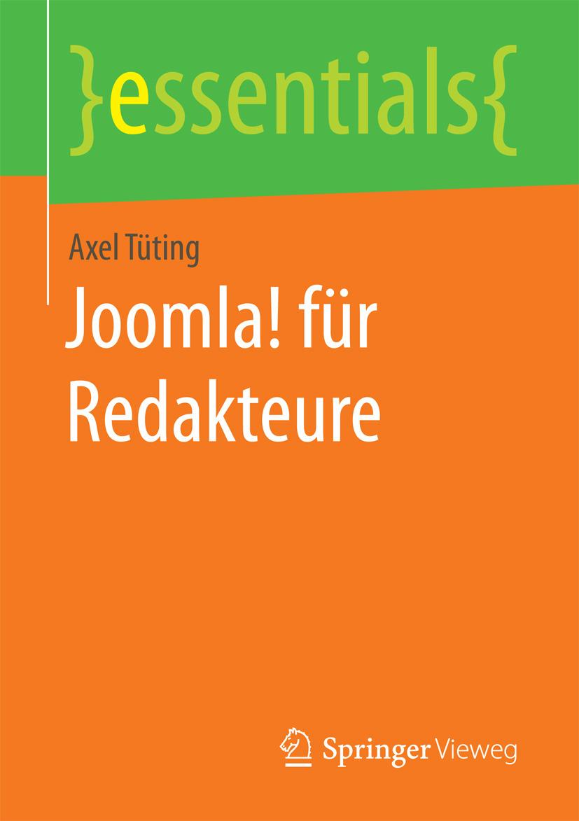 Tüting, Axel - Joomla! für Redakteure, ebook