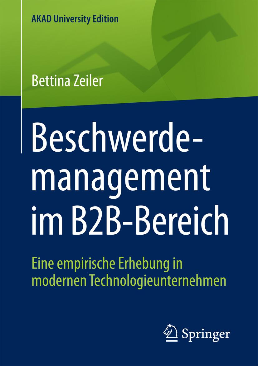 Zeiler, Bettina - Beschwerdemanagement im B2B-Bereich, ebook