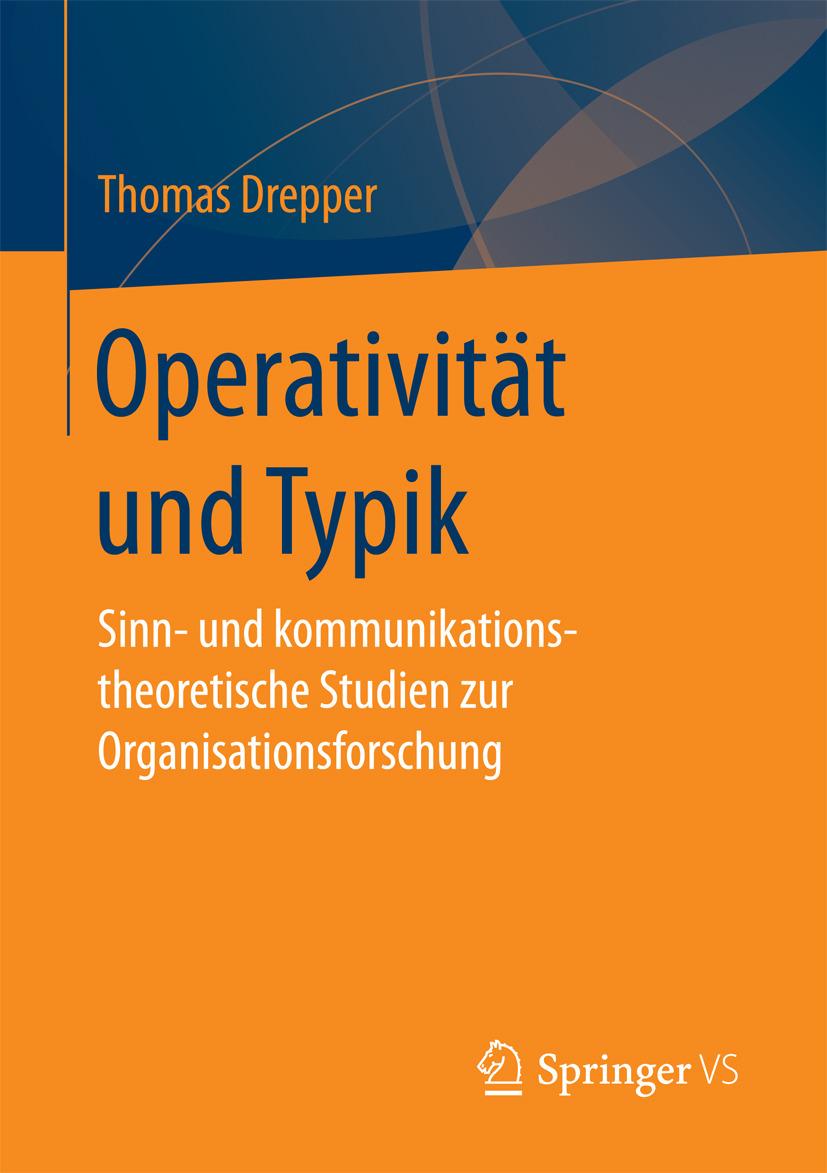 Drepper, Thomas - Operativität und Typik, ebook