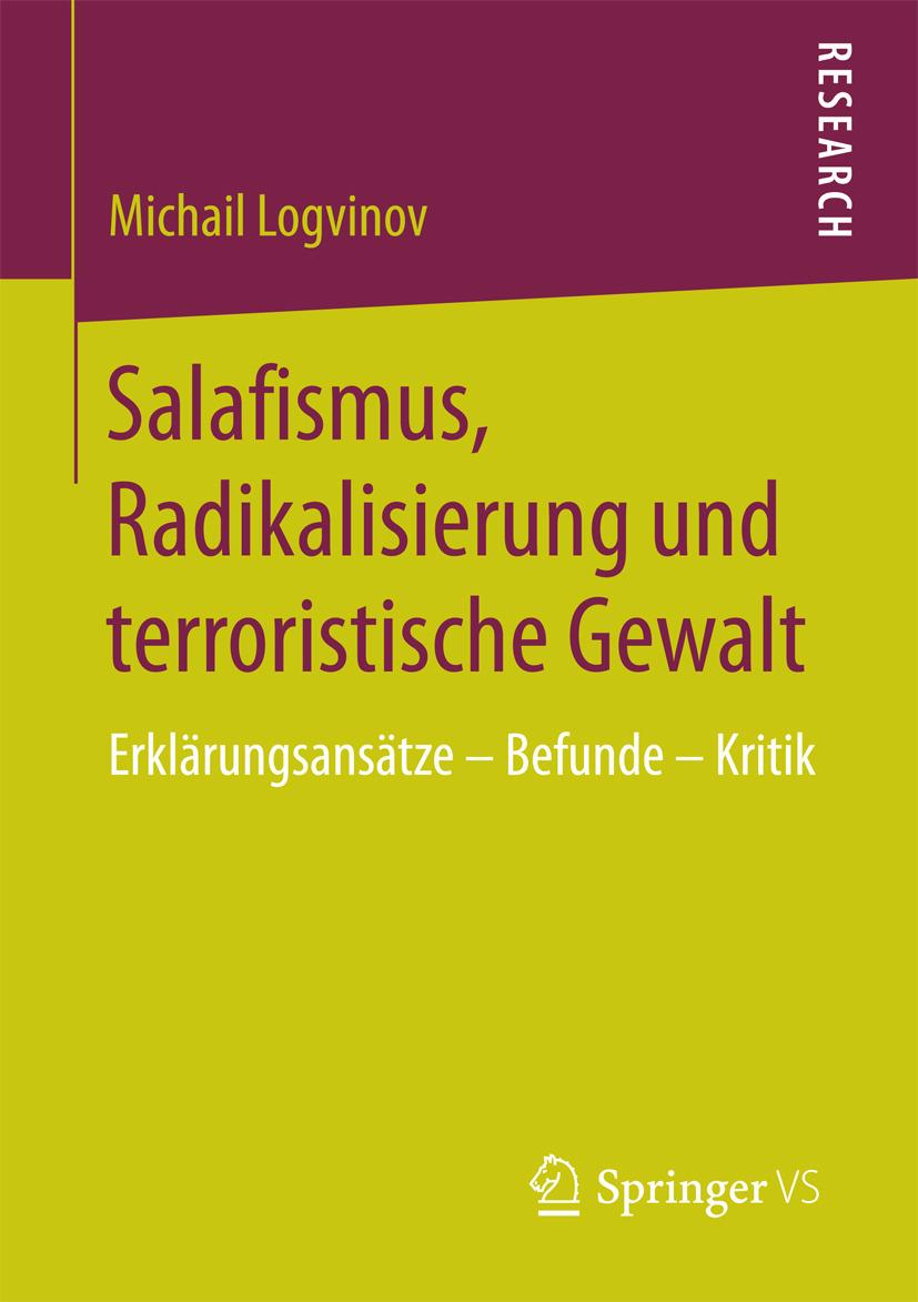 Logvinov, Michail - Salafismus, Radikalisierung und terroristische Gewalt, ebook