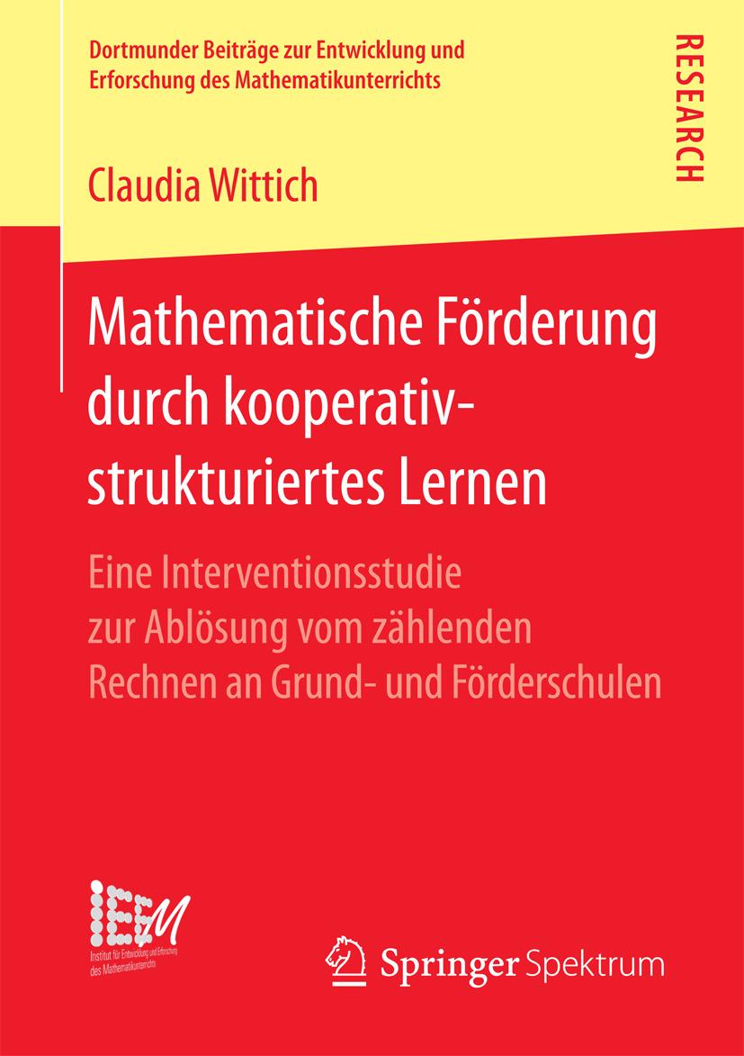 Wittich, Claudia - Mathematische Förderung durch kooperativ-strukturiertes Lernen, ebook