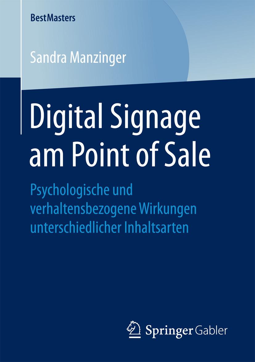 Manzinger, Sandra - Digital Signage am Point of Sale, ebook
