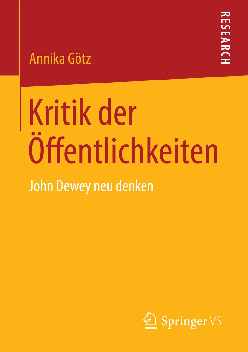 Götz, Annika - Kritik der Öffentlichkeiten, e-bok