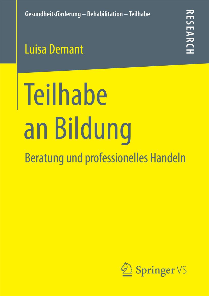 Demant, Luisa - Teilhabe an Bildung, ebook