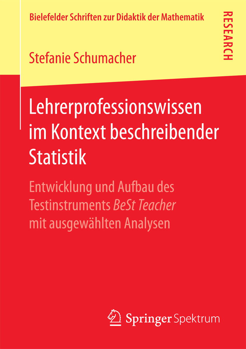 Schumacher, Stefanie - Lehrerprofessionswissen im Kontext beschreibender Statistik, ebook