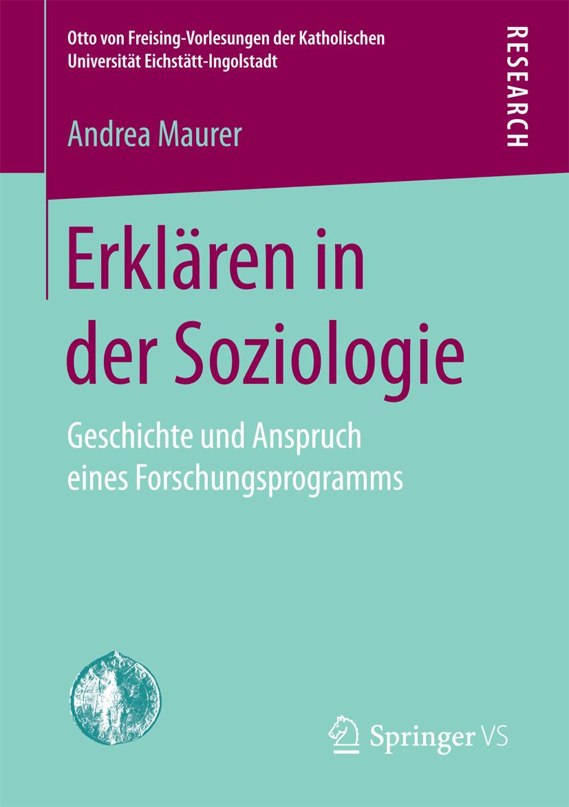 Maurer, Andrea - Erklären in der Soziologie, ebook