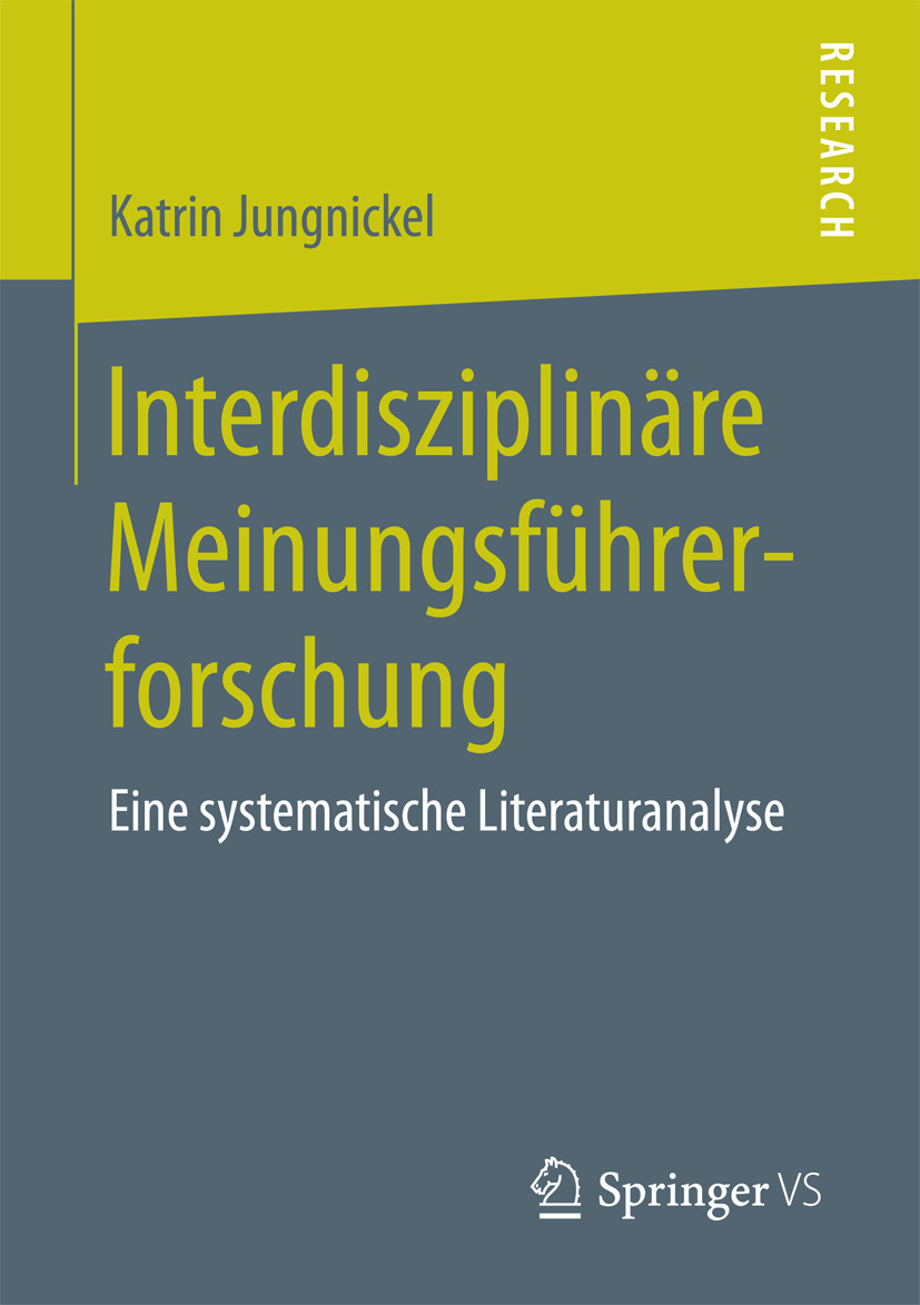 Jungnickel, Katrin - Interdisziplinäre Meinungsführerforschung, ebook