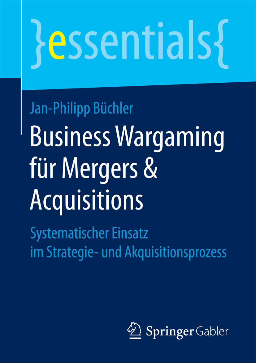 Büchler, Jan-Philipp - Business Wargaming für Mergers & Acquisitions, e-bok
