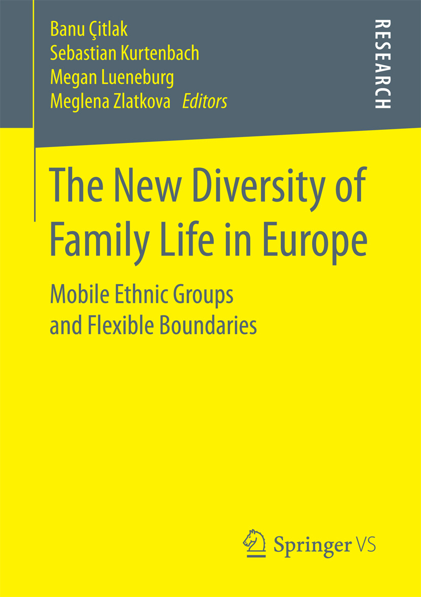 Kurtenbach, Sebastian - The New Diversity of Family Life in Europe, e-bok