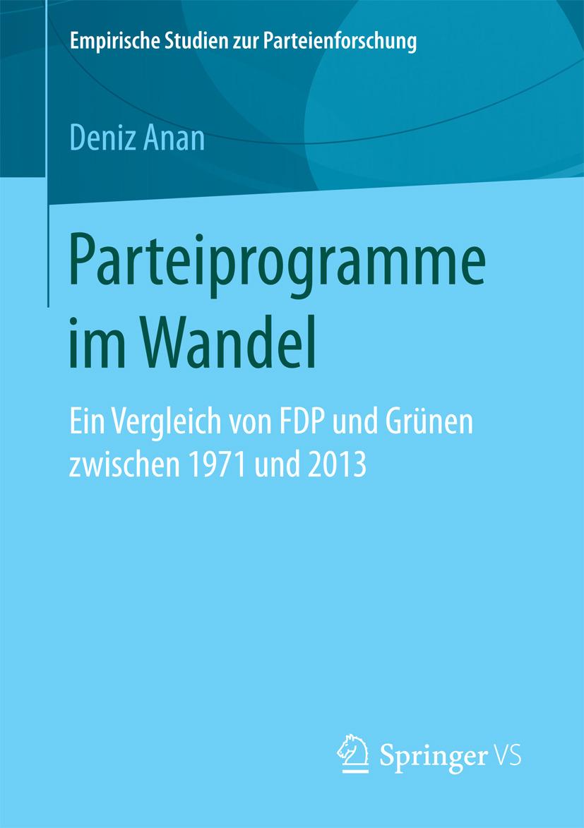 Anan, Deniz - Parteiprogramme im Wandel, ebook
