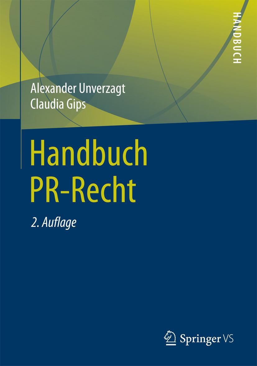 Gips, Claudia - Handbuch PR-Recht, ebook
