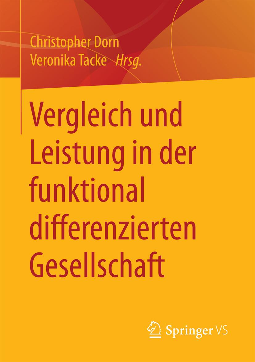 Dorn, Christopher - Vergleich und Leistung in der funktional differenzierten Gesellschaft, ebook