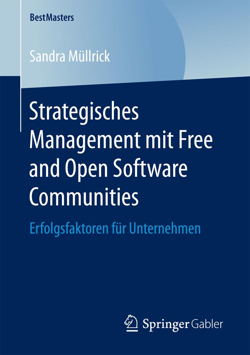 Müllrick, Sandra - Strategisches Management mit Free and Open Software Communities, ebook