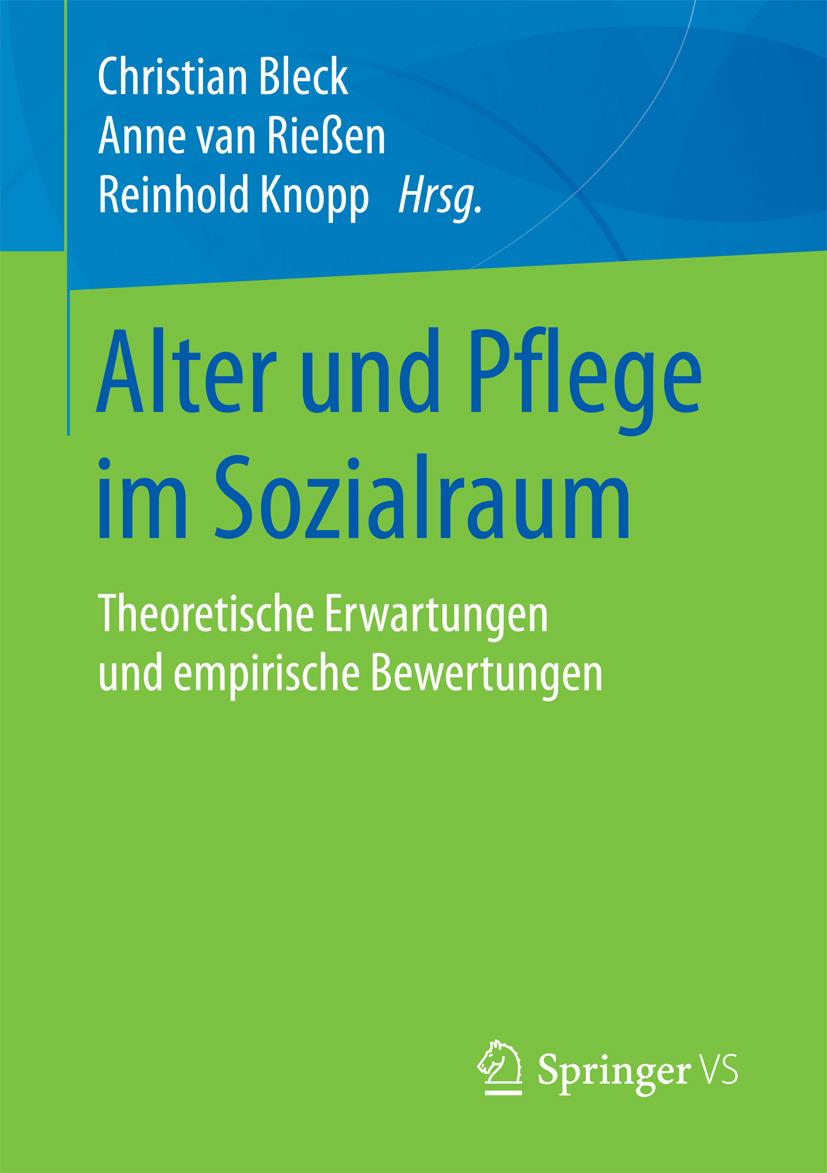 Bleck, Christian - Alter und Pflege im Sozialraum, ebook