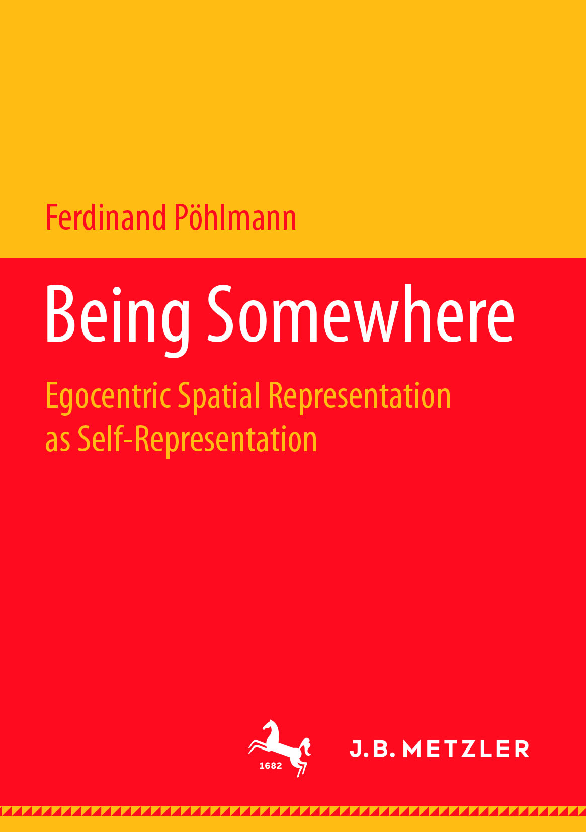 Pöhlmann, Ferdinand - Being Somewhere, ebook