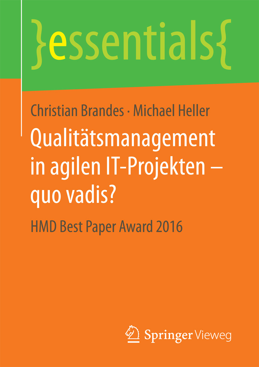 Brandes, Christian - Qualitätsmanagement in agilen IT-Projekten – quo vadis?, ebook