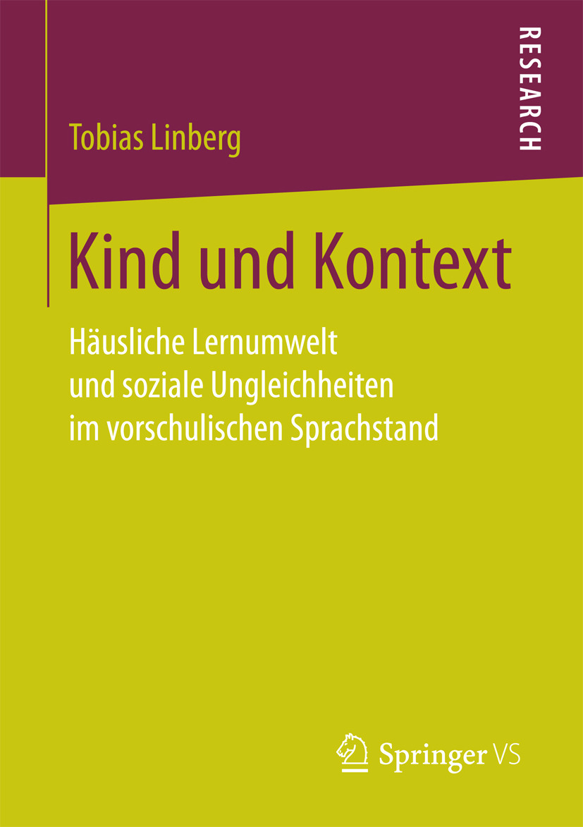 Linberg, Tobias - Kind und Kontext, ebook