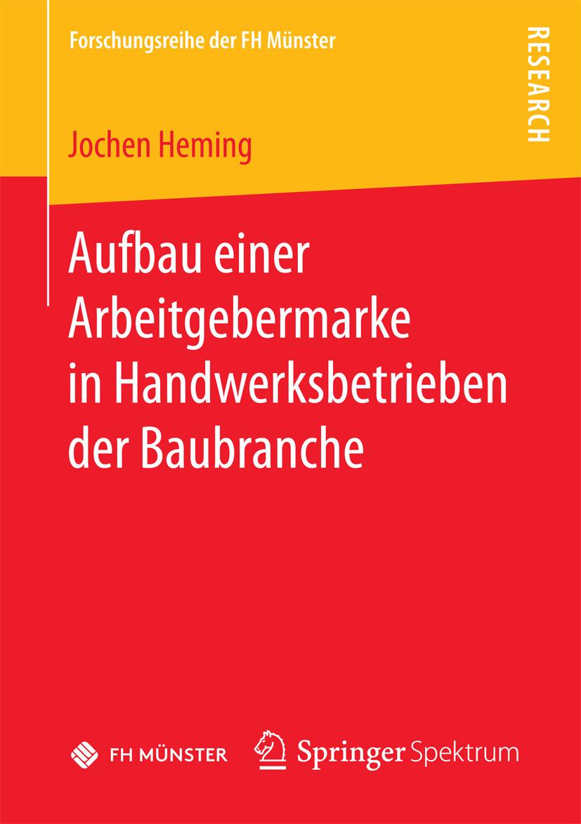 Heming, Jochen - Aufbau einer Arbeitgebermarke in Handwerksbetrieben der Baubranche, ebook