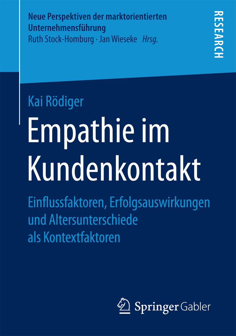 Rödiger, Kai - Empathie im Kundenkontakt, ebook