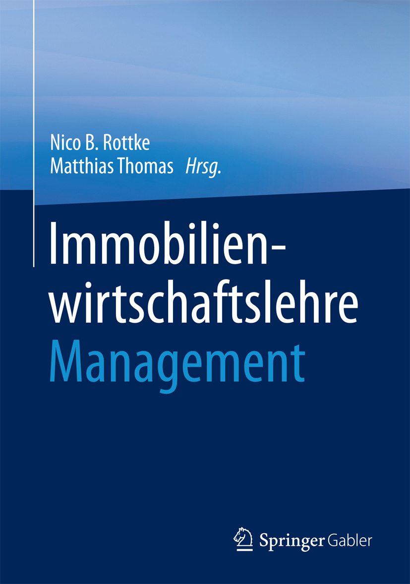 Rottke, Nico B. - Immobilienwirtschaftslehre - Management, ebook