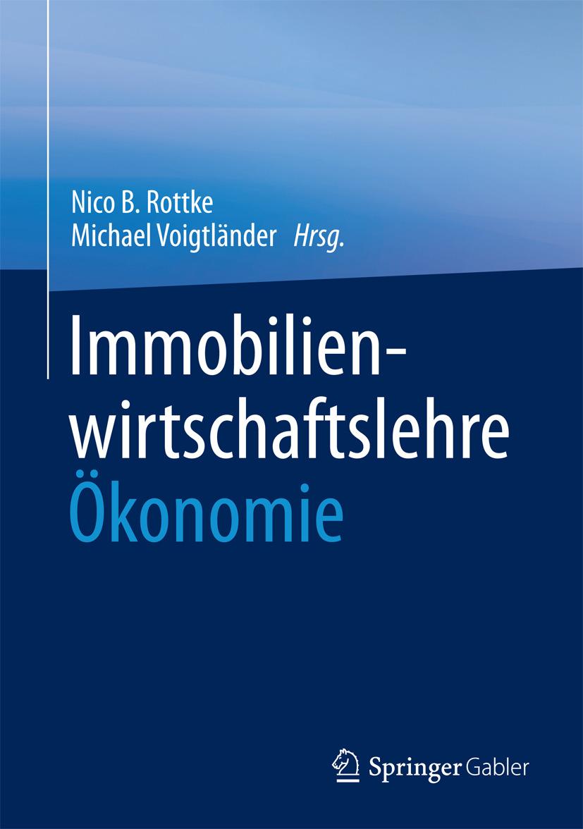 Rottke, Nico B. - Immobilienwirtschaftslehre - Ökonomie, ebook