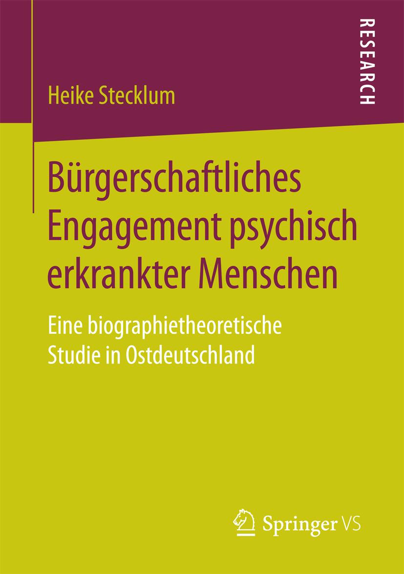 Stecklum, Heike - Bürgerschaftliches Engagement psychisch erkrankter Menschen, ebook
