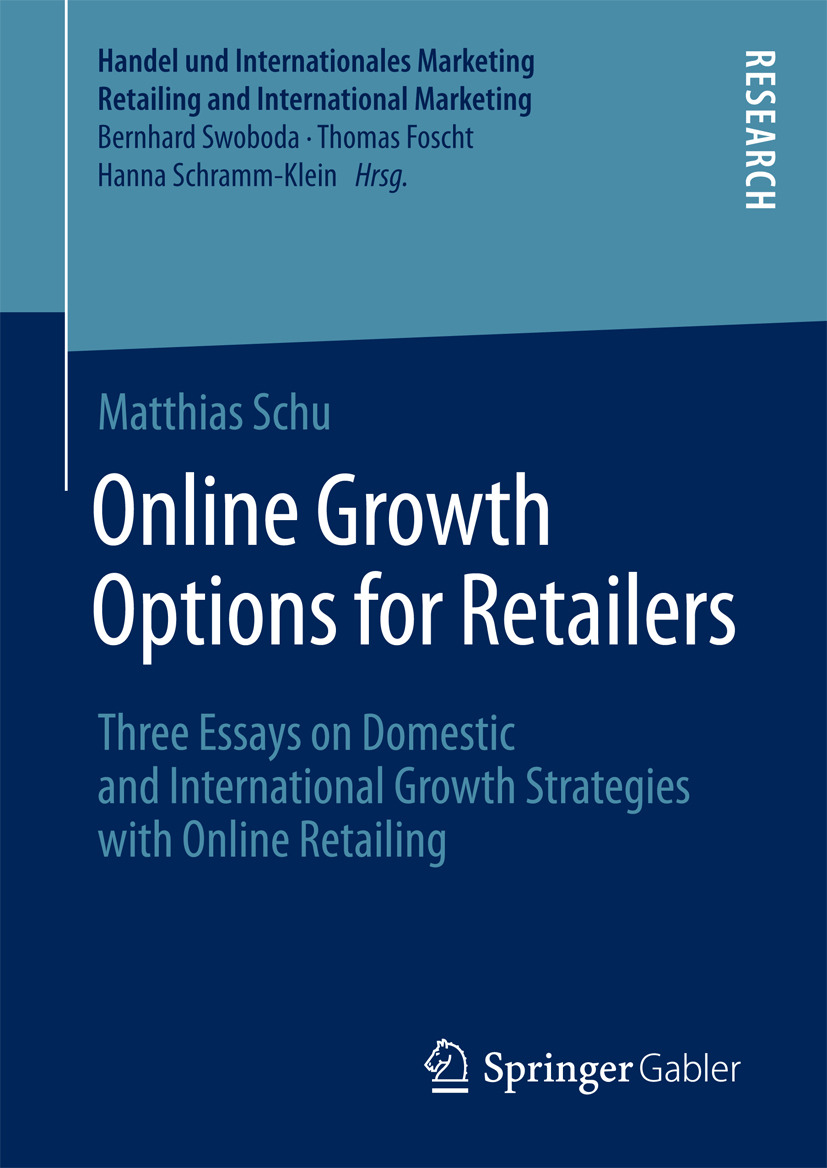 Schu, Matthias - Online Growth Options for Retailers, ebook
