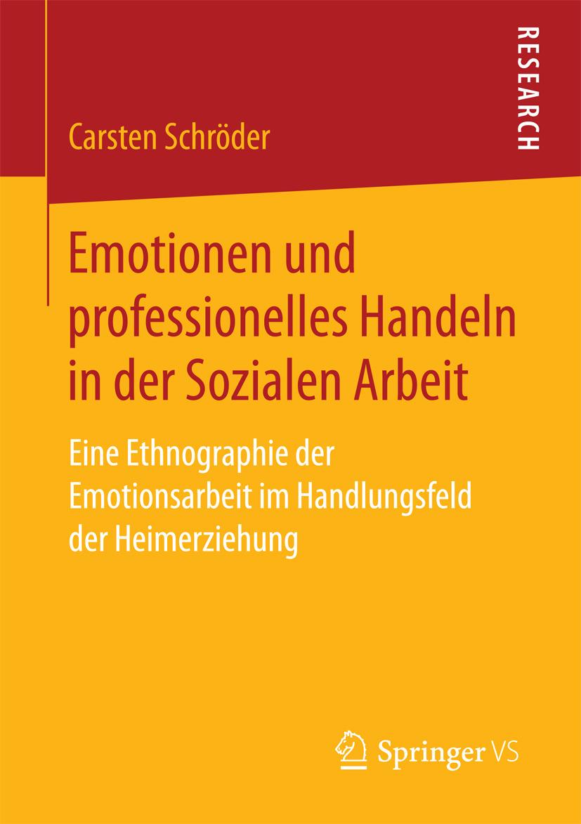 Schröder, Carsten - Emotionen und professionelles Handeln in der Sozialen Arbeit, ebook