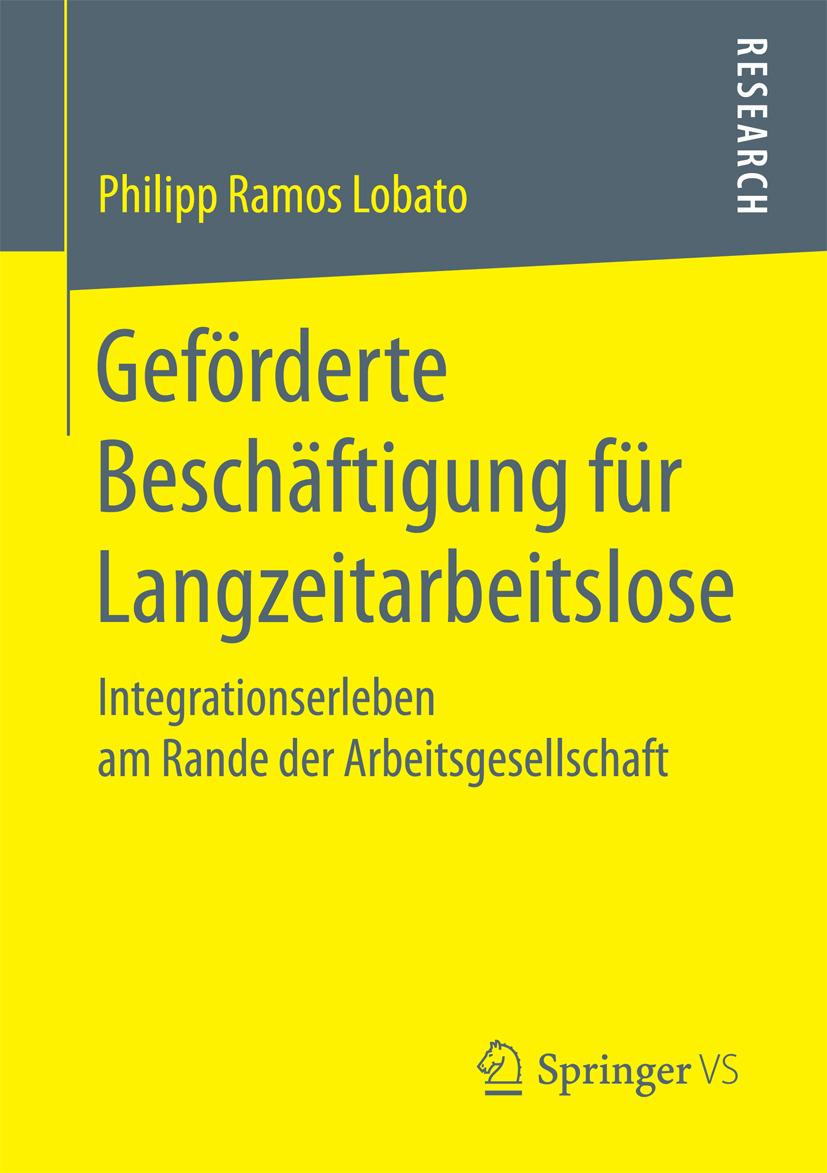 Lobato, Philipp Ramos - Geförderte Beschäftigung für Langzeitarbeitslose, ebook