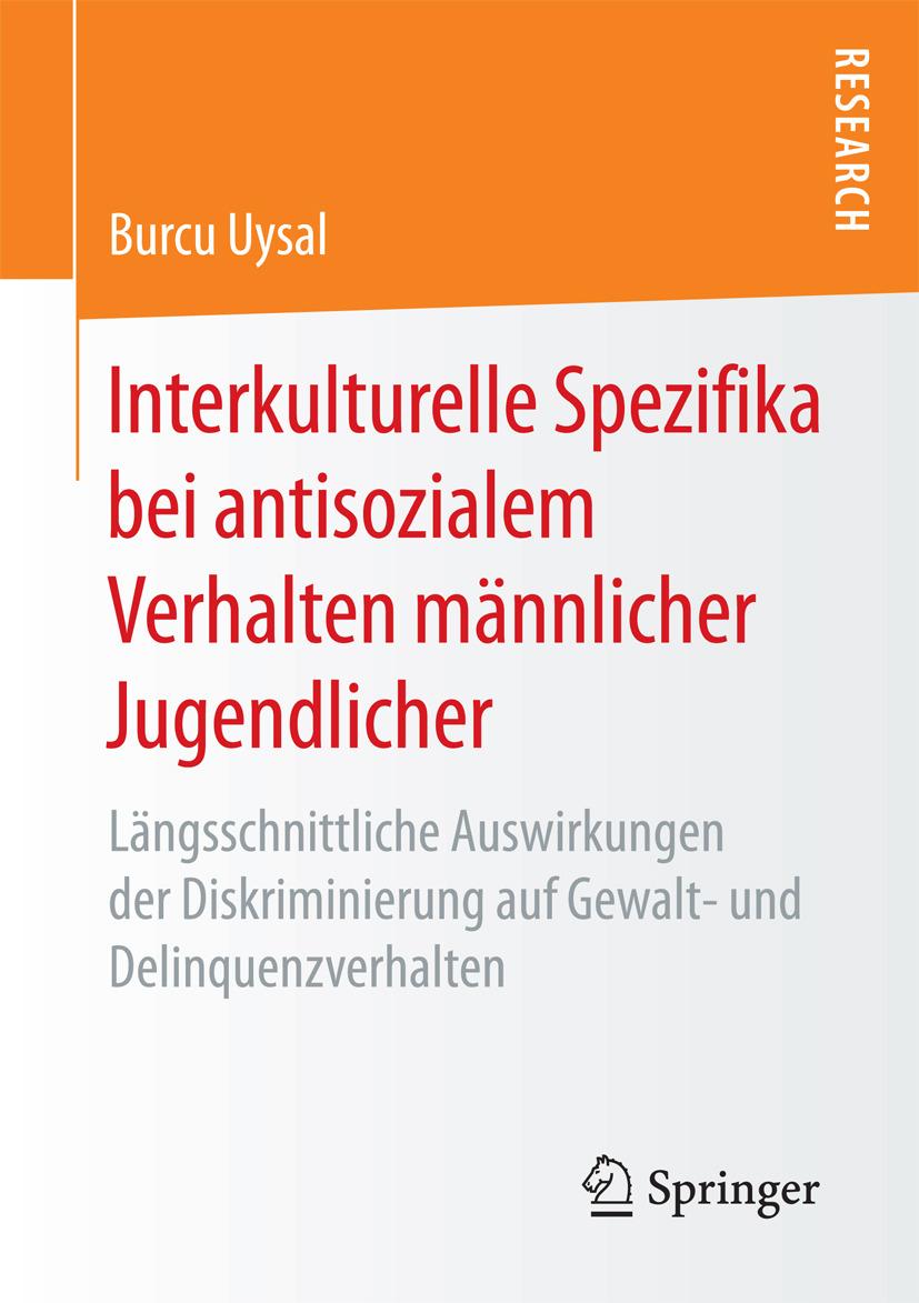 Uysal, Burcu - Interkulturelle Spezifika bei antisozialem Verhalten männlicher Jugendlicher, ebook