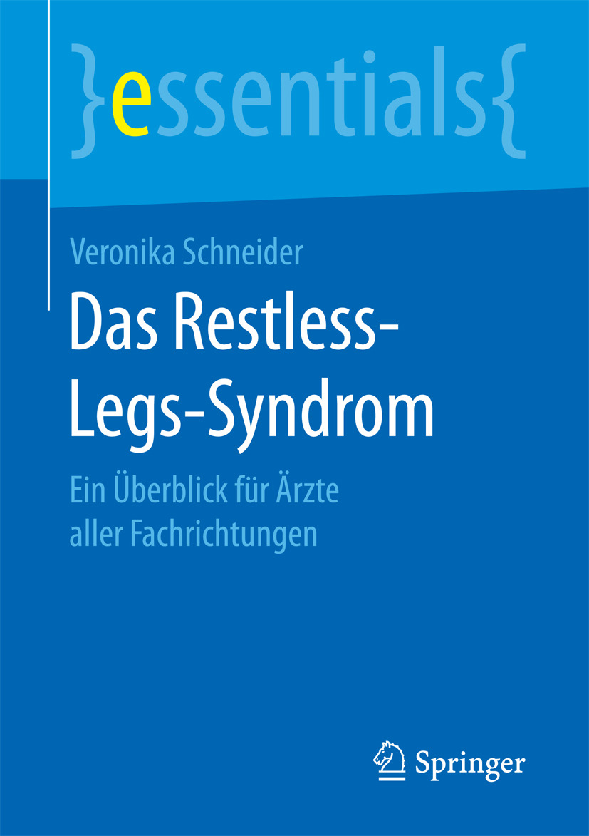 Schneider, Veronika - Das Restless-Legs-Syndrom, ebook