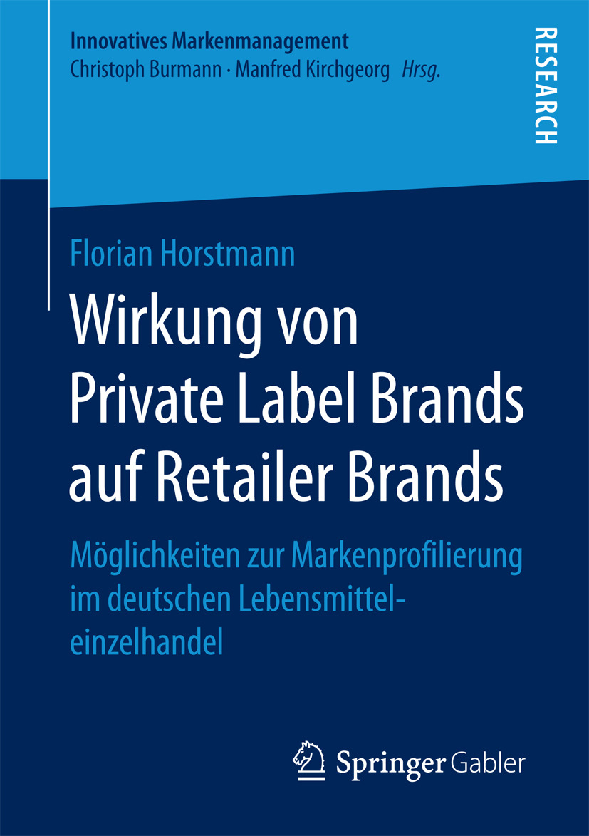 Horstmann, Florian - Wirkung von Private Label Brands auf Retailer Brands, ebook